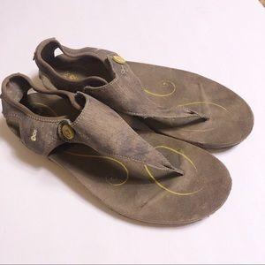 Ahnu Serena confort shoes brown size 9 1/2